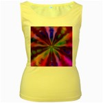 Bounty_Flower-161945 Women s Yellow Tank Top