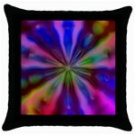 Bounty_Flower-161945 Throw Pillow Case (Black)