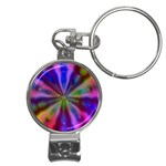 Bounty_Flower-161945 Nail Clippers Key Chain
