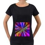 Bounty_Flower-161945 Maternity Black T-Shirt