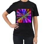 Bounty_Flower-161945 Women s Black T-Shirt