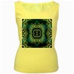 bluerings-185954 Women s Yellow Tank Top