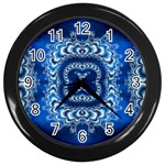 bluerings-185954 Wall Clock (Black)
