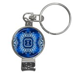 bluerings-185954 Nail Clippers Key Chain