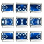bluerings-185954 9mm Italian Charm (9 pack)