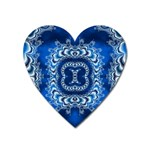 bluerings-185954 Magnet (Heart)