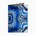 bluerings-185954 Mini Greeting Card