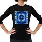 bluerings-185954 Women s Long Sleeve Dark T-Shirt