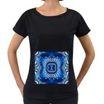 bluerings-185954 Maternity Black T-Shirt
