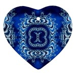 bluerings-185954 Heart Ornament (Two Sides)