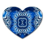 bluerings-185954 Mousepad (Heart)