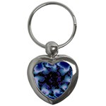 blue%20design%20wave%202-662985 Key Chain (Heart)