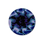 blue%20design%20wave%202-662985 Magnet 3  (Round)