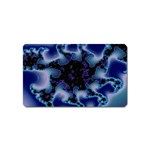 blue%20design%20wave%202-662985 Magnet (Name Card)