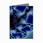 blue%20design%20wave%202-662985 Mini Greeting Cards (Pkg of 8)