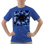 blue%20design%20wave%202-662985 Dark T-Shirt