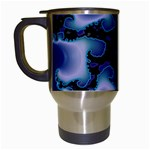 blue%20design%20wave%202-662985 Travel Mug (White)