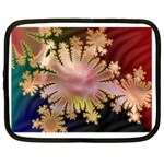 abstract-flowers-984772 Netbook Case (Large)