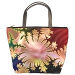 abstract-flowers-984772 Bucket Bag