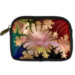 abstract-flowers-984772 Digital Camera Leather Case