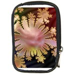 abstract-flowers-984772 Compact Camera Leather Case