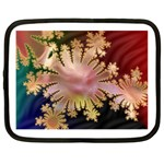 abstract-flowers-984772 Netbook Case (XL)