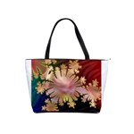 abstract-flowers-984772 Classic Shoulder Handbag