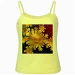 abstract-flowers-984772 Yellow Spaghetti Tank