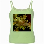 abstract-flowers-984772 Green Spaghetti Tank
