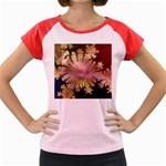 abstract-flowers-984772 Women s Cap Sleeve T-Shirt