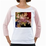 abstract-flowers-984772 Girly Raglan