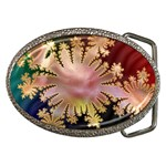 abstract-flowers-984772 Belt Buckle