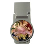 abstract-flowers-984772 Money Clip (Round)