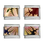 abstract-flowers-984772 9mm Italian Charm (4 pack)