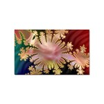 abstract-flowers-984772 Sticker (Rectangular)