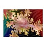 abstract-flowers-984772 Sticker (A4)