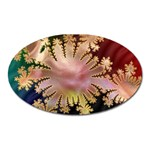 abstract-flowers-984772 Magnet (Oval)