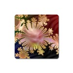 abstract-flowers-984772 Magnet (Square)