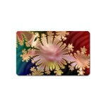 abstract-flowers-984772 Magnet (Name Card)