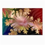 abstract-flowers-984772 Postcard 5  x 7