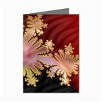 abstract-flowers-984772 Mini Greeting Card