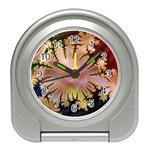 abstract-flowers-984772 Travel Alarm Clock