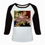 abstract-flowers-984772 Kids Baseball Jersey