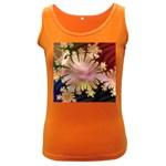 abstract-flowers-984772 Women s Dark Tank Top