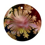 abstract-flowers-984772 Round Ornament (Two Sides)