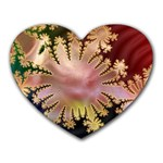 abstract-flowers-984772 Mousepad (Heart)