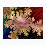 abstract-flowers-984772 Glasses Cloth (Small, Two Sides)