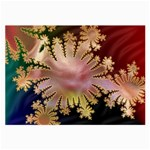 abstract-flowers-984772 Glasses Cloth (Large, Two Sides)