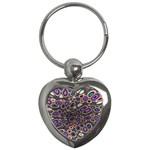 abstract_formula_wallpaper-387800 Key Chain (Heart)