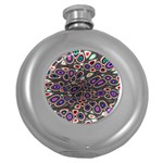 abstract_formula_wallpaper-387800 Hip Flask (5 oz)
